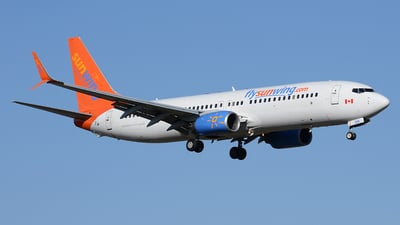 C-FTDW - Boeing 737-808 - Sunwing Airlines