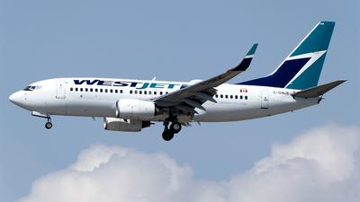 A picture of CGWJE - Boeing 7377CT - WestJet - © Stian Haabeth