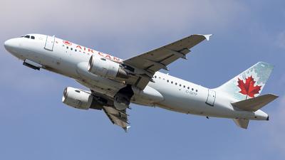 C-GITP - Airbus A319-112 - Air Canada