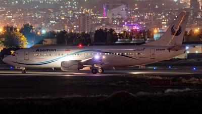 EP-APP - Boeing 737-4H6 - Iran Aseman Airlines