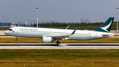 B-HPG - Airbus A321-251NX - Cathay Pacific Airways