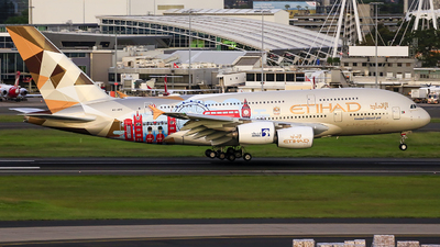 A picture of A6APE - Airbus A380861 - Etihad Airways - © MQ1131
