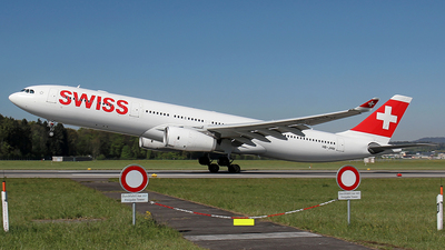 HB-JHM - Airbus A330-343 - Swiss