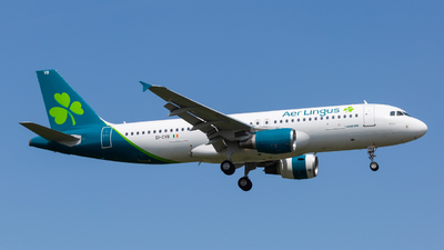 A picture of EICVB - Airbus A320214 - Aer Lingus - © Angelo Harmsworth