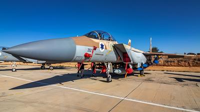 252 - Boeing F-15I Ra'am - Israel - Air Force