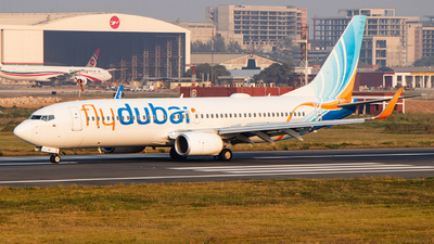 A picture of A6FGE - Boeing 7378KN - FlyDubai - © Emdadul Hoque