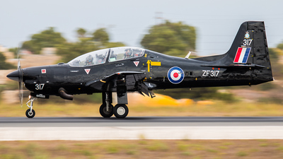 ZF317 - Short Tucano T.1 - United Kingdom - Royal Air Force (RAF)