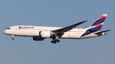 CC-BBB - Boeing 787-8 Dreamliner - LATAM Airlines