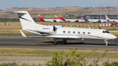 N154FV - Gulfstream G450 - Private