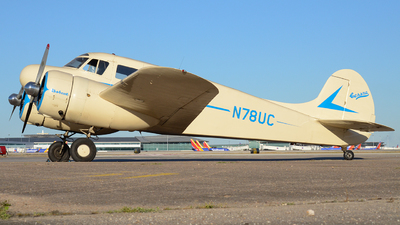 N78UC - Cessna T-50 Bobcat - Private