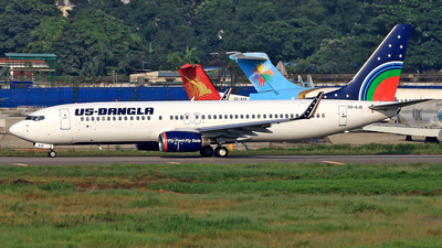 A picture of S2AJD - Boeing 7378Q8 - USBangla Airlines - © Raihan Ahmed