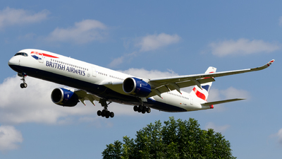 A picture of GXWBH - Airbus A3501041 - British Airways - © Ethan Hew - p_nilly