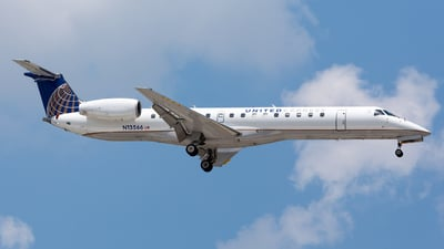 N13566 - Embraer ERJ-145LR - United Express (ExpressJet Airlines)