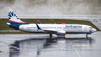 A picture of DADAB - Boeing 7378HC - SunExpress - © Maximilian Schulz