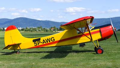 SP-AWG - Yakovlev Yak-12M - Aero Club - Bielsko-Biala
