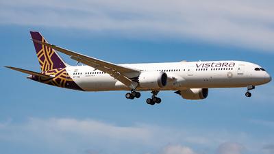 A picture of VTTSD - Boeing 7879 Dreamliner - Vistara - © Hwang Heesung