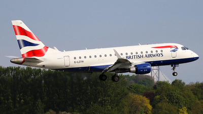 G-LCYH - Embraer 170-100STD - BA CityFlyer