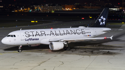 D-AIZN - Airbus A320-214 - Lufthansa