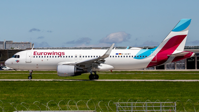 A picture of DAEWT - Airbus A320214 - Eurowings - © Steffen Müller