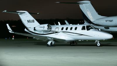 N6UB - Cessna 525 CitationJet 1 - Silverleaf Aviation