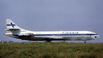 OH-LSF - Sud Aviation SE 210 Caravelle 10B3 - Finnair
