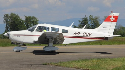 HB-OQV - Piper PA-28-151 Cherokee Warrior - Private
