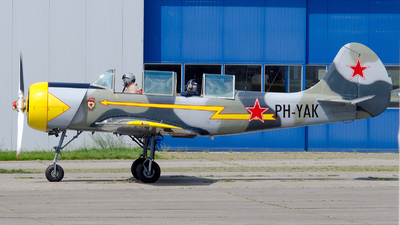 A picture of PHYAK - Aerostar Yak52 - [877401] - © Dutch