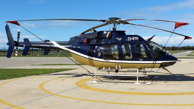 ZS-RYH - Bell 407 - Private