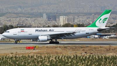 EP-MNG - Airbus A300B4-603 - Mahan Air