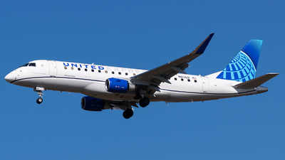 A picture of N613UX - Embraer E175LL - United Airlines - © Evan Dougherty