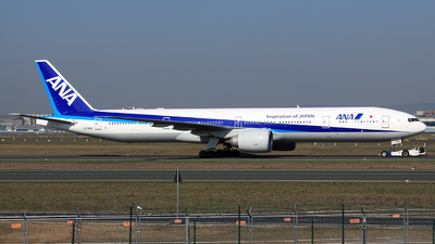 JA786A - Boeing 777-381ER - All Nippon Airways (ANA)