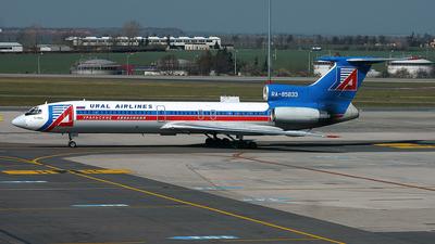RA-85833 - Tupolev Tu-154M - Ural Airlines