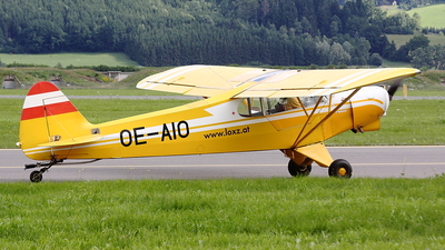 OE-AIO - Piper PA-18-180M Super Cub - Private