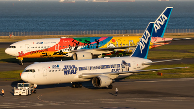 JA604A - Boeing 767-381(ER) - All Nippon Airways (ANA)