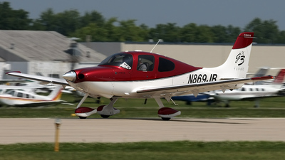 A picture of N869JB - Cirrus SR22 - [2910] - © Jeremy D. Dando