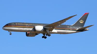 A picture of JYBAA - Boeing 7878 Dreamliner - Royal Jordanian - © Óscar López Herrero