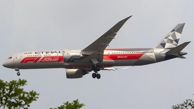A6-BLV - Boeing 787-9 Dreamliner - Etihad Airways