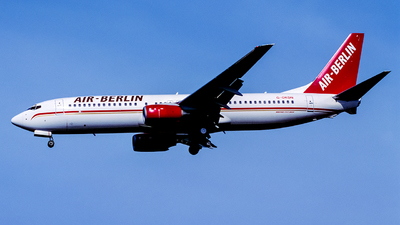 G-OKDN - Boeing 737-8Q8 - Air Berlin (Sabre Airways)