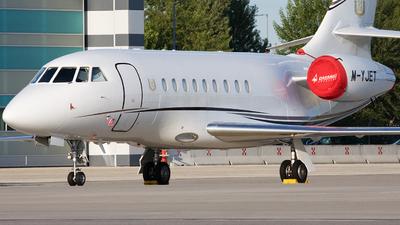 M-YJET - Dassault Falcon 2000EX - Private