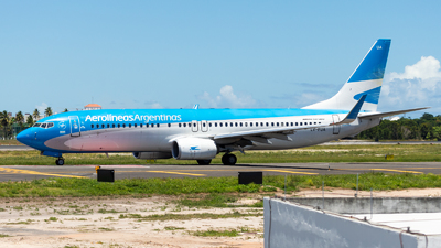 A picture of LVFUA - Boeing 7378HX - Aerolineas Argentinas - © Marcos Marcel