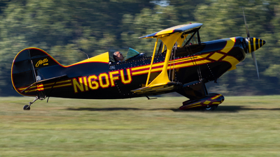 N160FU - Pitts S-2B Special - Private