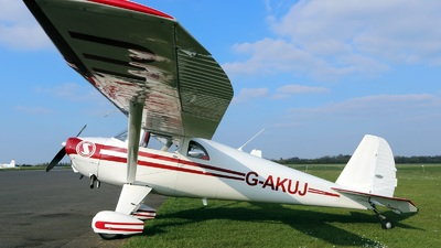 G-AKUJ - Luscombe 8E - Private