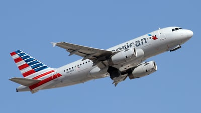 N814AW - Airbus A319-132 - American Airlines