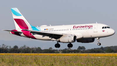 A picture of DAGWX - Airbus A319132 - Eurowings - © Alexander Jeglitsch