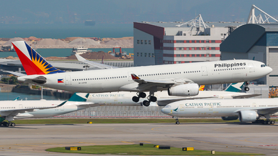 A picture of RPC8766 - Airbus A330343 - Philippine Airlines - © Thomasng