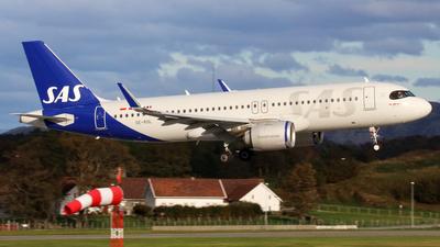 A picture of SEROL - Airbus A320251N - SAS - © R.Rimestad
