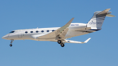 N507GD - Gulfstream G500 - Gulfstream Aerospace