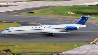 N964CE - McDonnell Douglas MD-83(SF) - Everts Air Cargo
