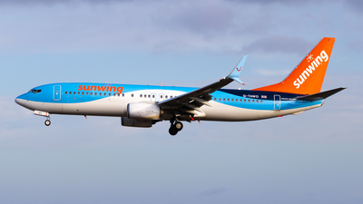A picture of GTAWO - Boeing 7378K5 - TUI fly - © aaron_gcrr