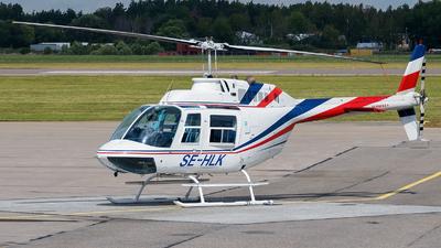 SE-HLK - Agusta-Bell AB-206B JetRanger II - Lapplandsflyg